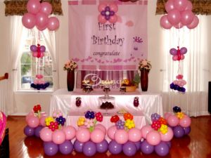 Birth day arrangement