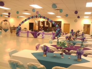 party hall arrangement