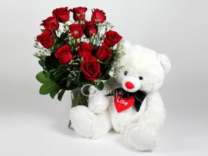 Teddy Rose Bouquet