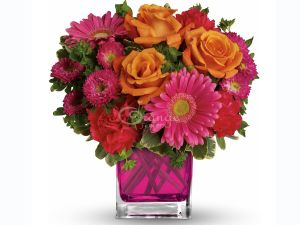 teleflora turn bouquet