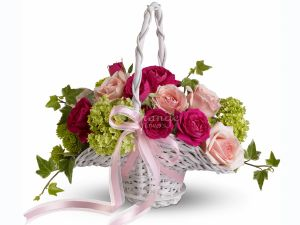 Wedding Flower Basket